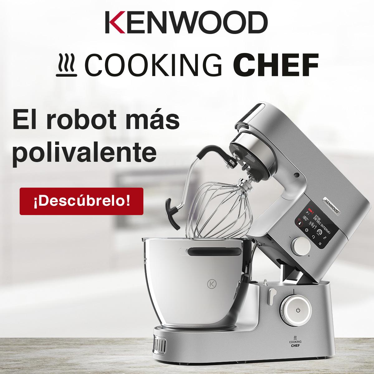 Cooking Chef el robot más polivalente de kenwood