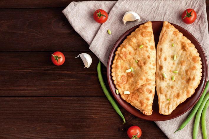 Receta empanada cebolla y alcachofa