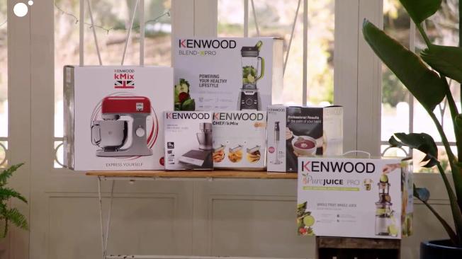 Lote de productos Kenwood premio concurso Bake off