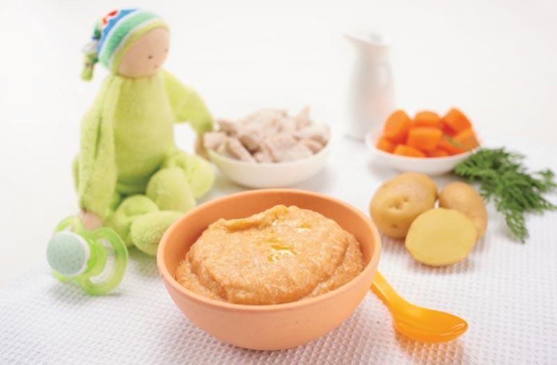 Alimentos para cada etapa de tu bebé