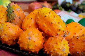 frutas exóticas kiwano