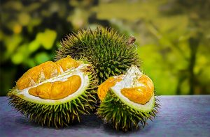 frutas exóticas Durián