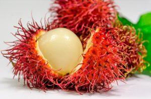 frutas exóticas rambután