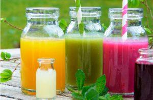 zumos detox de naranja