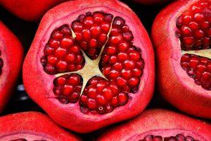 Granadas como alimento saludable de otoño